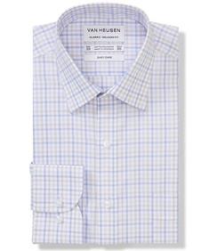Classic Relaxed Fit Shirt Tonal Checks