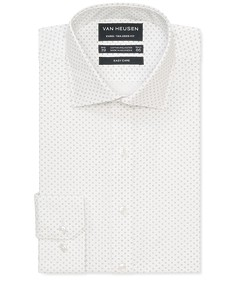 Euro Tailored Fit Shirt White Emblem Print