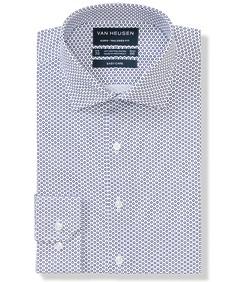 Euro Tailored Fit Shirt Geometric Circle Print
