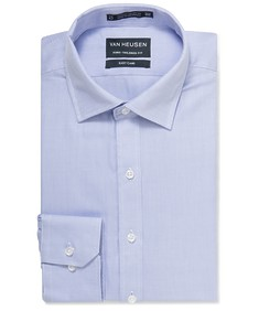 Euro Tailored Shirt Lilac Herringbone