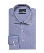 Euro Tailored Shirt Ink Textured
