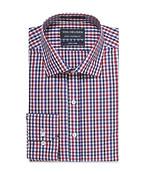 Euro Tailored Shirt Multi Check