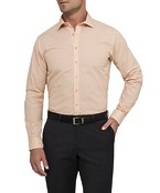 Slim Fit Shirt Tangerine Check