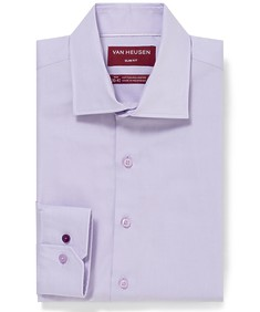 Slim Fit Shirt Mauve Oxford