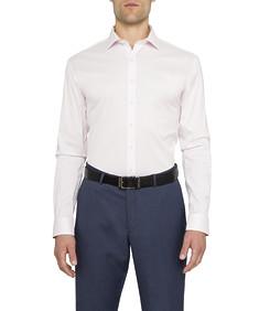Slim Fit Shirt Stretch Solid