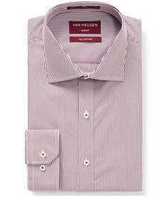 Men's Slim Fit Shirt Red Stripe