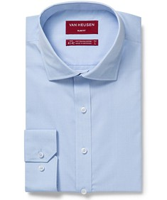 Slim Fit Shirt Solid Blue