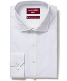 Men's Slim Fit Shirt Solid White