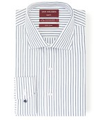 Slim Fit Shirt Indigo Wide Stripe