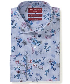 Slim Fit Shirt Summer Florals