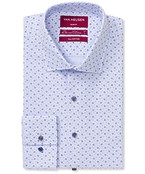 Slim Fit Shirt Indigo Floral Print