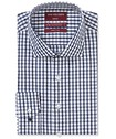 Slim Fit Shirt Navy Tone Check