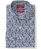Slim Fit Shirt Indigo Florals