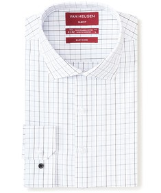 Slim Fit Shirt Two Colour Line Check