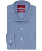 Slim Fit Shirt Indigo Geometric Check