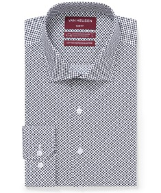 Slim Fit Shirt Purple Gingham