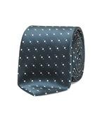 Neck Tie Green Multi Spots