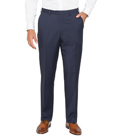 Classic Relaxed Fit Suit Pants Navy