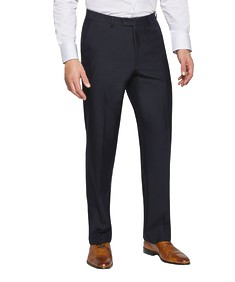 Classic Relaxed Fit Suit Pants Dark Navy