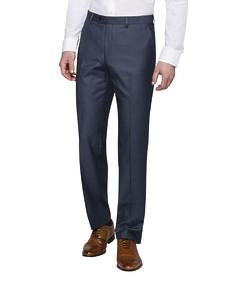 Euro Tailored Fit Suit Pants Birdseye