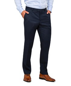 Euro Tailored Suit Pant Navy