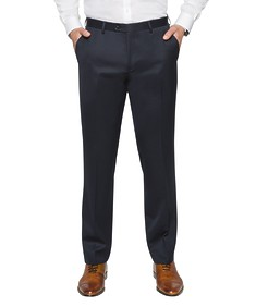 Euro Tailored Fit Suit Pant Dark Navy