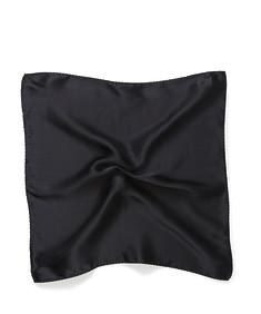 Mens Pocket Square Black