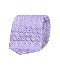 Neck Tie Lilac Diagonal Stripe