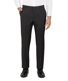 Black Label Slim Fit Suit Pants Charcoal