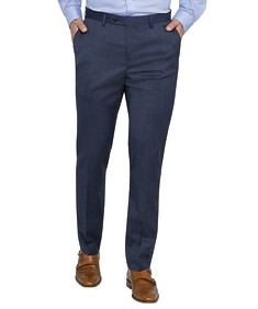 Slim Fit Suit Pants Ink Fine Stripe