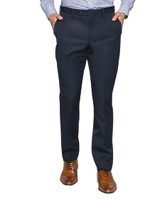 Slim Fit Suit Pants Dark Navy