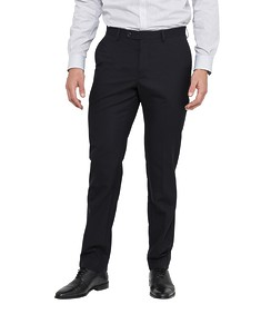 Slim Fit Suit Pants Black