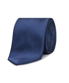 Neck Tie Navy Dobby Texture