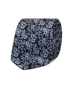 Neck Tie Blue Floral