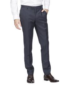 Super Slim Fit Suit Pant Navy Ox Check