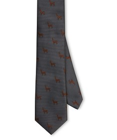 Neck Tie Grey Deer