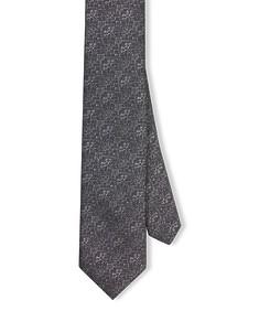Neck Tie Dark Grey Textured