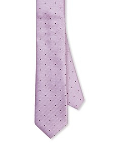 Neck Tie Pink Dimensional Stripe