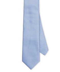 Neck Tie Sky Blue Dots