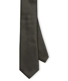 Neck Tie Charcoal Dobby Texture