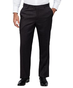 Van Heusen Mens Performa Suit Pants Charcoal