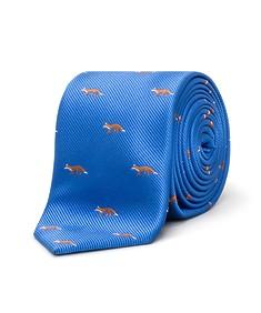 Neck Tie Royal Blue Foxes