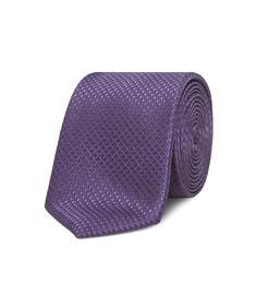 Neck Tie Purple Check