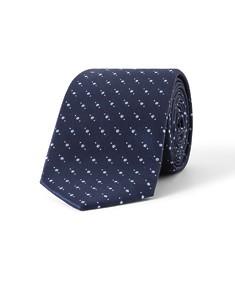 Tie Navy Blue Spots