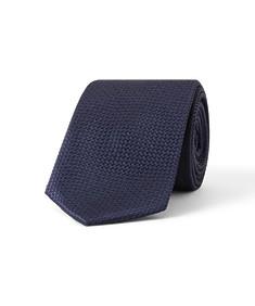 Tie Navy Cross Stitch