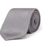 Tie Charcoal Textured Grain