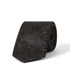 Tie Black Embossed