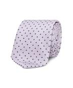Neck Tie Pink with Navy Stars
