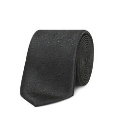 Neck Tie Black Foil Look