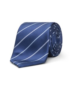 Neck Tie Navy Bold Diagonal